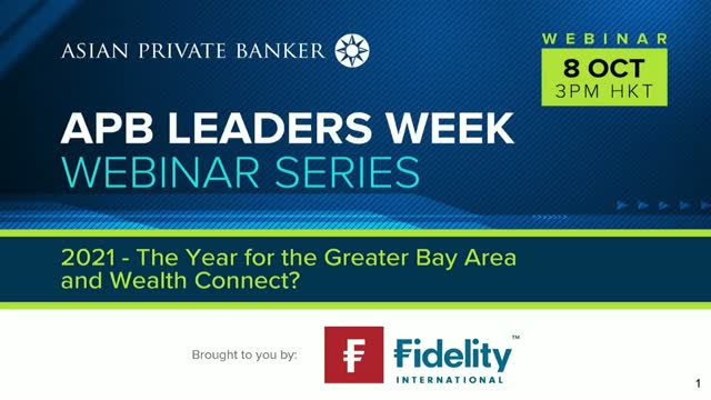 2021 - The Year for the Greater Bay Area and Wealth Connect?