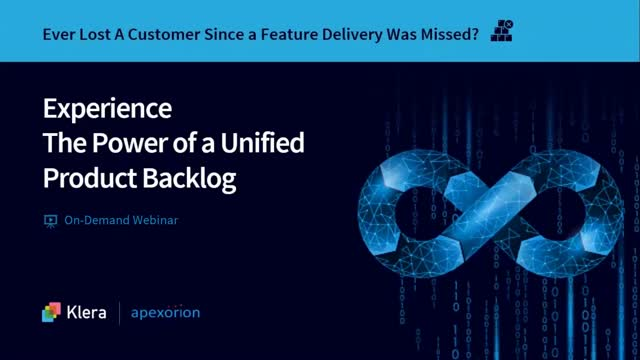 Experience the Power of a Unified Product Backlog