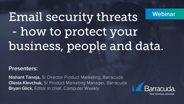 Email security threats - how to protect your business, people and data