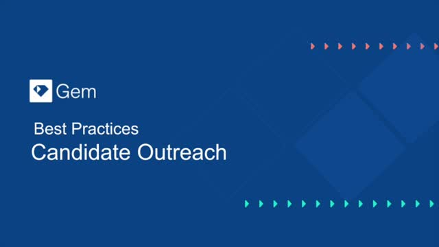 As seen at SourceCon 2.0 ⏤ Best Practices: Candidate Outreach