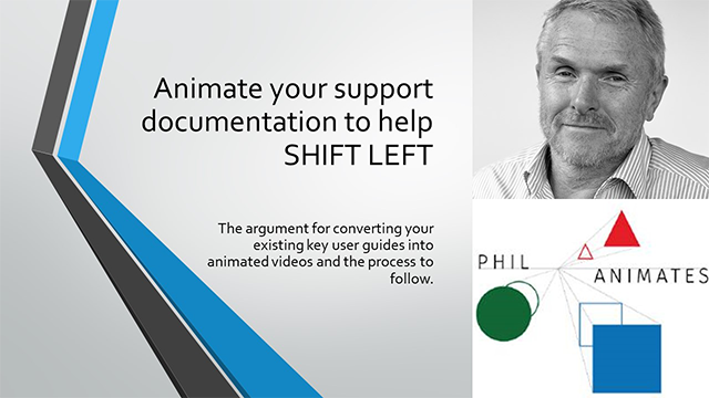Animate your support documentation to help SHIFT LEFT