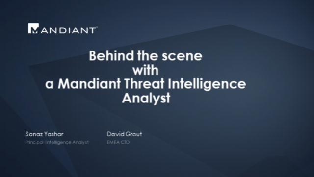 Behind the Cyber Battlefield with a Mandiant Threat Intelligence Analyst