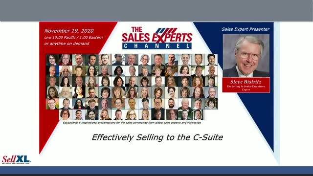 Effectively Selling to the C-Suite