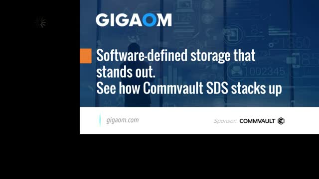 Software-defined storage that stands out. See how Commvault SDS stacks up