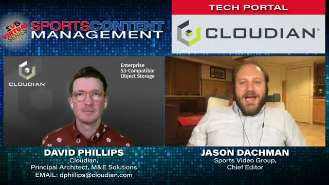 Cloudian and SVG Sports Content Management Discuss Storage and Media Management