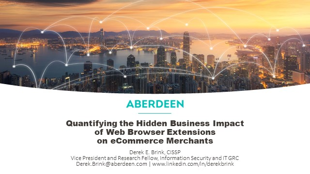 The Hidden Business Impact of Web Browser Extensions on eCommerce Merchants