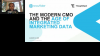 The Modern CMO and the Age of Integrated Marketing Data