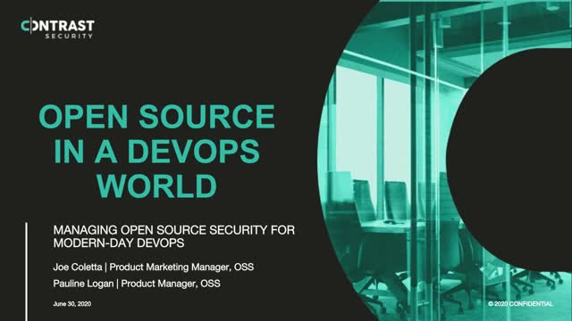 Managing Open-Source Security for Modern-Day DevOps