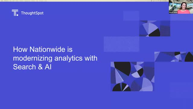 How Nationwide is Modernising Analytics with Search & AI