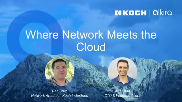 Where Network Meets the Cloud