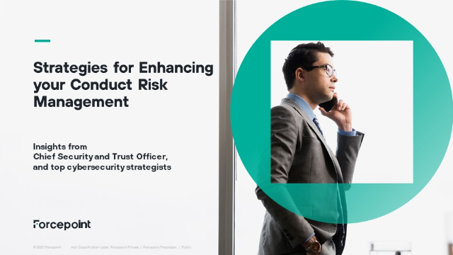 Enhance Your Conduct Risk Management Strategy, The financial industry is at risk