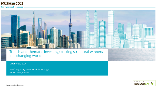 Trends and thematic investing: picking structural winners in a changing world