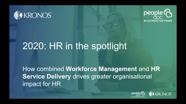 How combined Workforce Management & HR Service drives greater organisational
