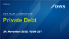 DWS Talks Alternatives:  Private Debt (English)