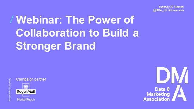 Webinar: The Power of Collaboration to Build a Stronger Brand