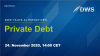 DWS Talks Alternatives: Private Debt (Deutsch)