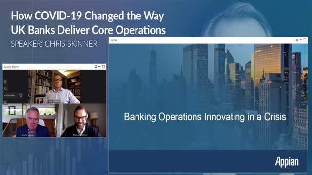 Banking Operations Innovating in a Crisis: Chris Skinner Explores Our Latest FT