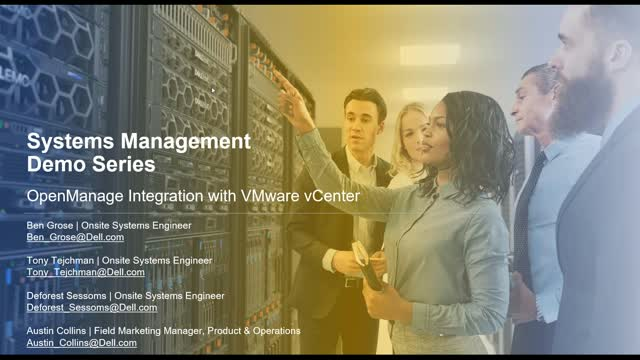 OpenManage Integration with VMware vCenter Demo and Q&A