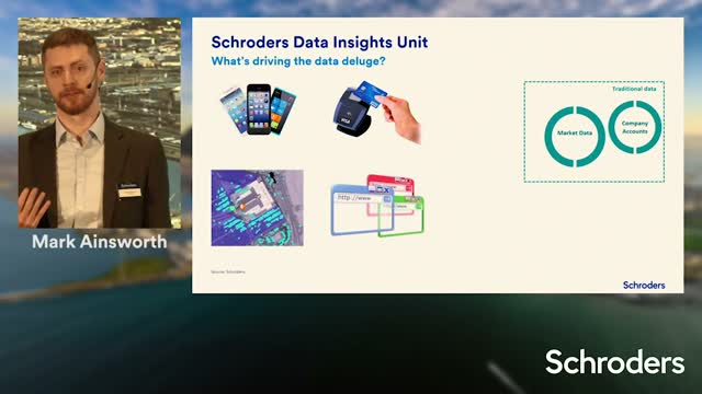 Schroders Investment Symposium - Turning data into Alpha