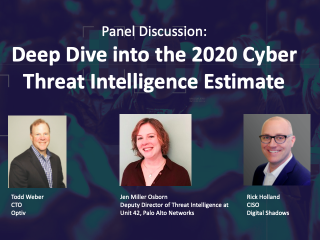 Deep Dive into the 2020 Cyber Threat Intelligence Estimate