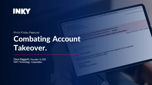 Talking Phish: Battling Account Takeover with Stylometry
