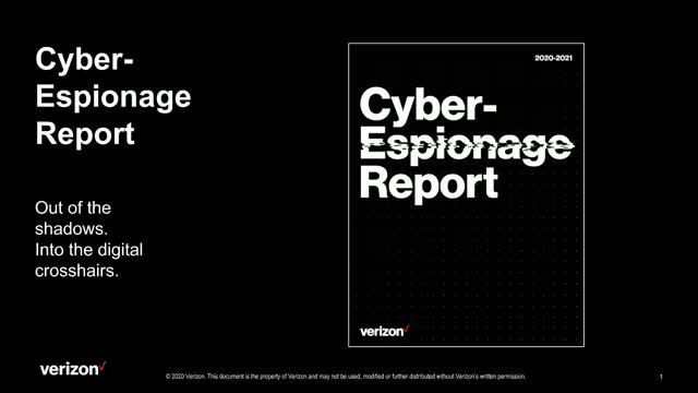 Introducing the Cyber-Espionage Report