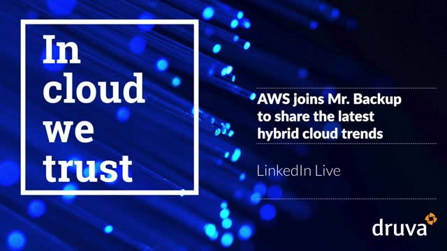 AWS joins Mr. Backup to share the latest hybrid cloud trends