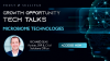GROWTH OPPORTUNITY TECH TALKS: Microbiome Technologies