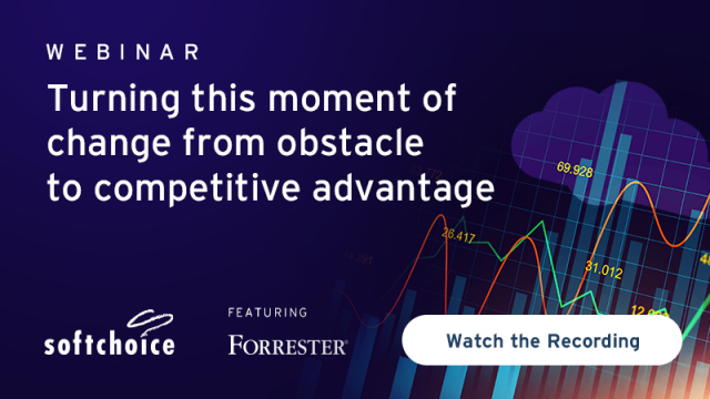 Turning this Moment of Change from Obstacle to Competitive Advantage