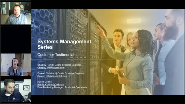 Server Systems Management Series - Customer Testimonial