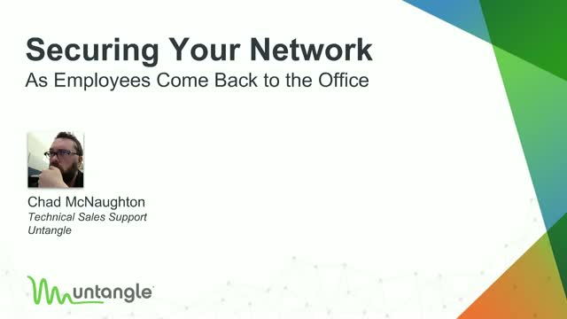 Securing Your Network as Employees Come Back to the Office