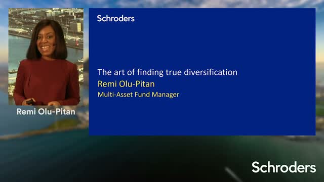 Schroders Investment Symposium - The art of finding true diversification