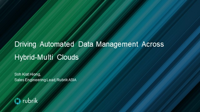 Driving Automated Data Management Across Hybrid-Multi Clouds