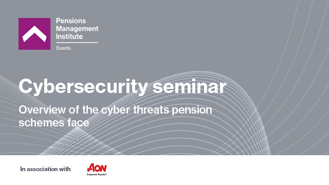 Overview of the cyber threats pension schemes face