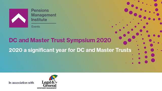 2020 a significant year for DC and Master Trusts