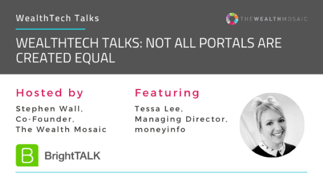 WealthTech Talks: Not all portals are created equal