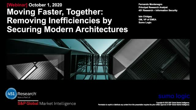 Moving faster, Together: Removing Inefficiencies by Securing Modern Architecture