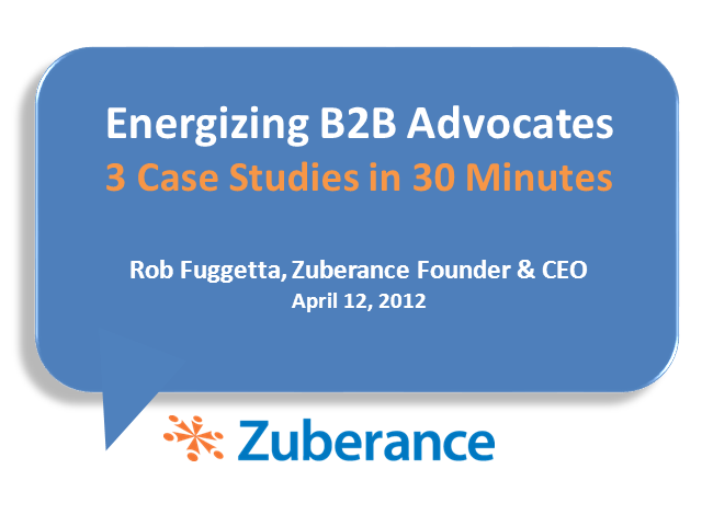 How Three B2B Companies Are Leveraging Brand Advocates to Drive Sales and Leads