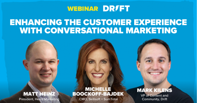 Enhancing the Customer Experience with Conversational Marketing