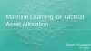 Machine Learning in Investment Management