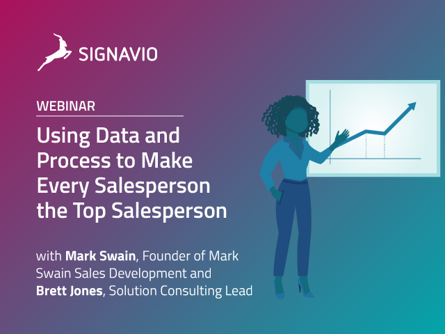Using Data and Process to Make Every Salesperson the Top Salesperson