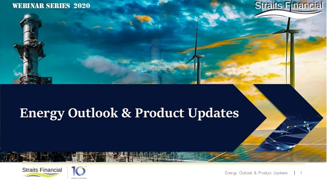 Energy Outlook & Product Updates