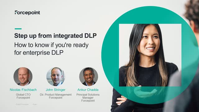 Step up from integrated DLP