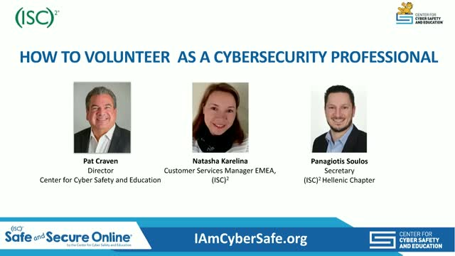 How to Volunteer as a Cybersecurity Professional