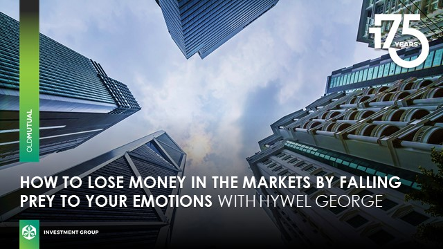 How to lose money in the markets by falling prey to your emotions