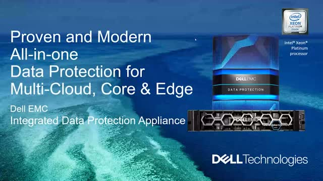 Proven and Modern All-in-one Data Protection for Multi-cloud, Core & Edge