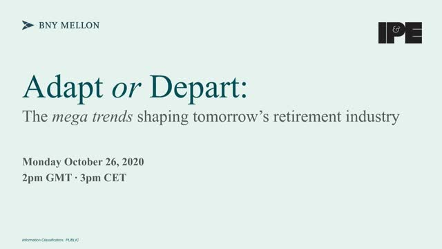 Adapt or depart: the mega trends shaping tomorrow's retirement industry