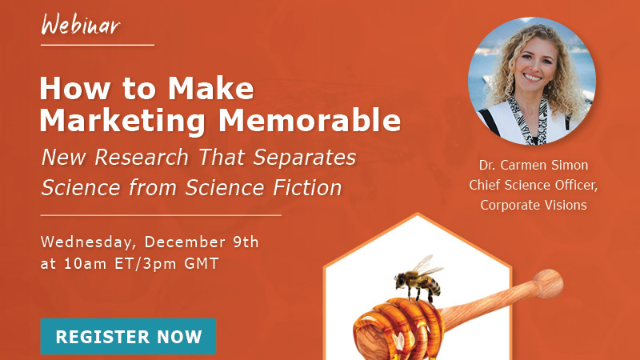 How to Make Marketing Memorable: Separate Science from Science Fiction