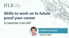 Skills to work on to future proof your career