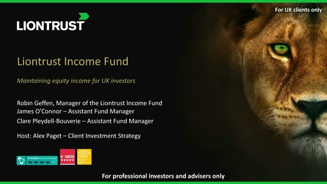 Liontrust Views - Maintaining equity income for UK investors (UK ONLY)
